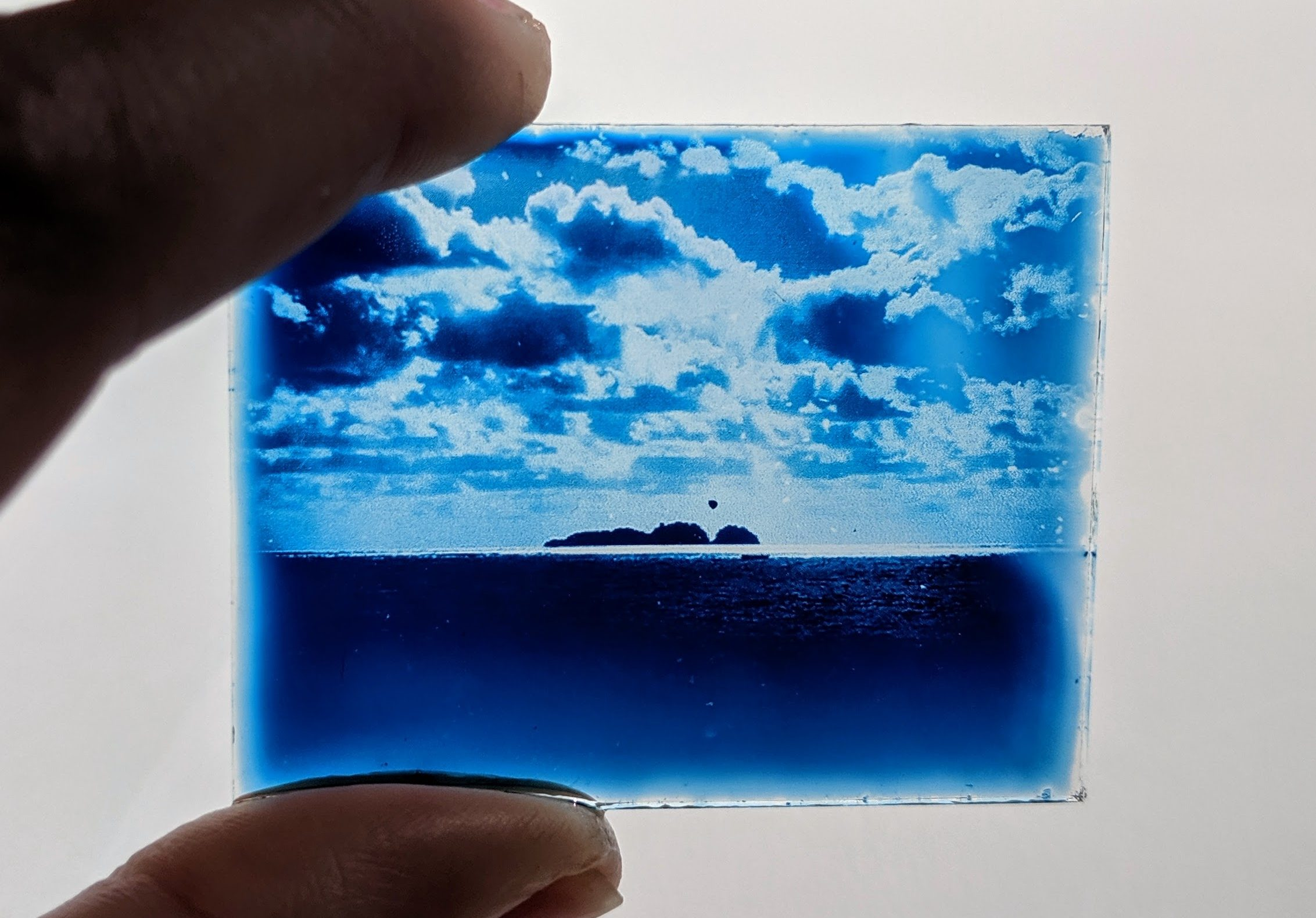 Les mini cyanotypes
